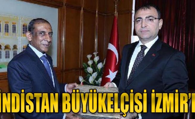 Hindistan Büyükelçisi İzmir'de