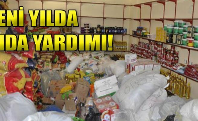 Çiğli Belediyesi'nden Yeni Yılda Gıda Yardımı