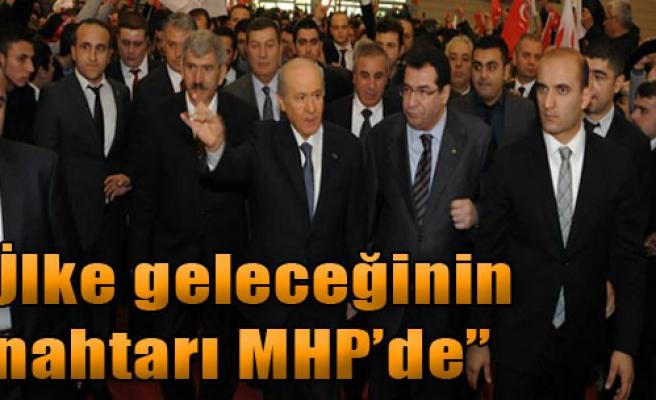 'Ülke Geleceğinin Anahtarı MHP'de'