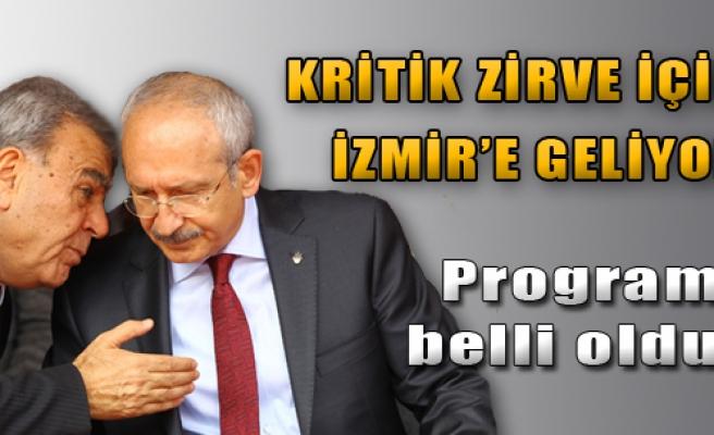 Kritik Zirve İçin İzmir'e Geliyor