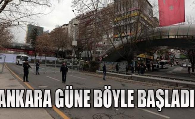 Ankara Güne Acıyla Uyandı