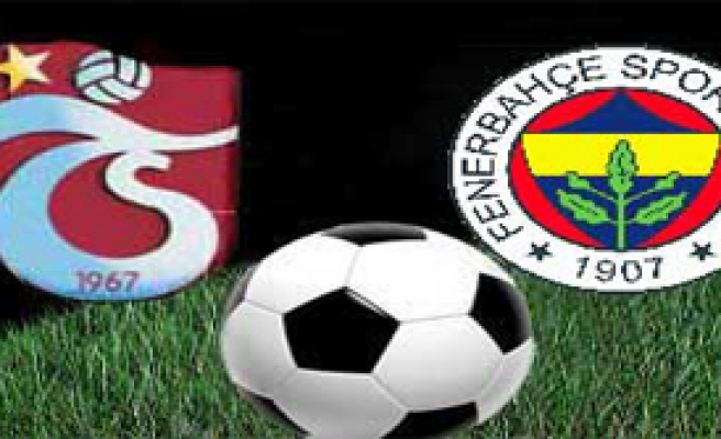 Trabzonspor 1 Fenerbahçe 1