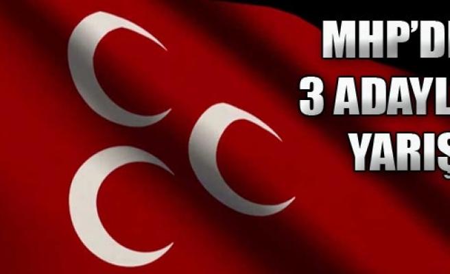 MHP İzmir'de 3 Adaylı Yarış!
