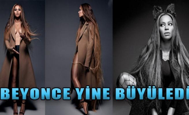 Beyonce Yine Büyüledi
