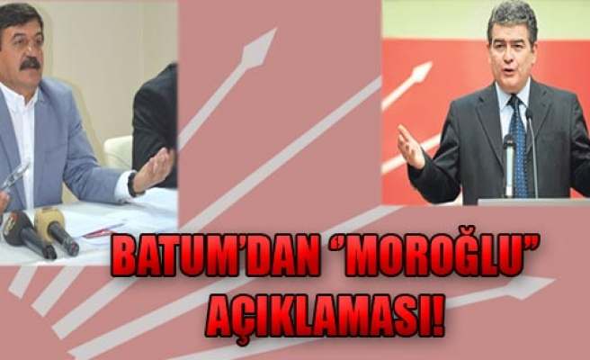 Batum, CHP'yi Mahkemeye Verecek!