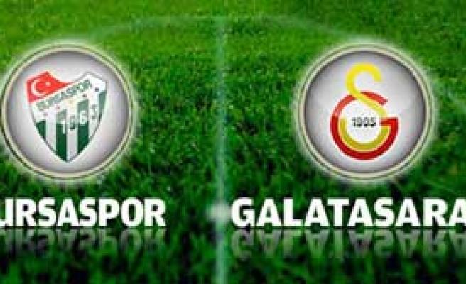 Bursaspor-Galatasaray Maçına Doğru