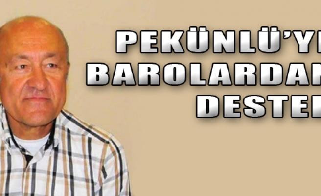 Barolardan Pekünlü'ye Destek