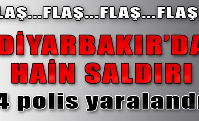 Hainler, Diyarbakır'da Yine Saldırdı