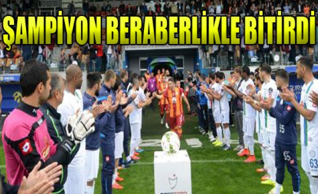 Çaykur Rizespor:1-Galatasaray:1