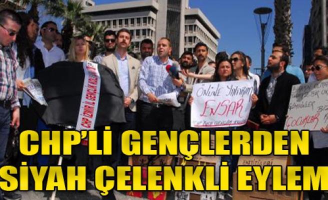 İzmir'de Siyah Çelenk Krizi