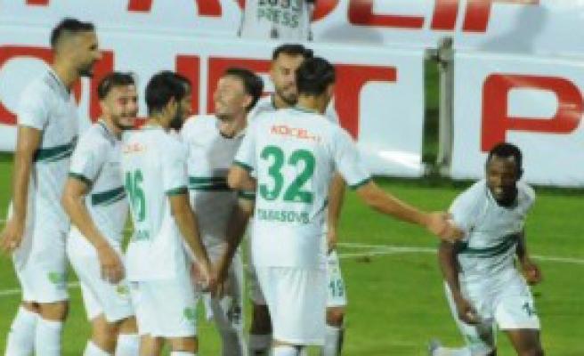 Giresunspor-Balıkesirspor: 1-0