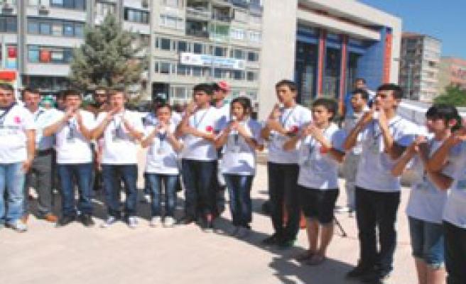 Denizli 7. İşitme Engelliler Kültür ve Sanat Festivali Başladı