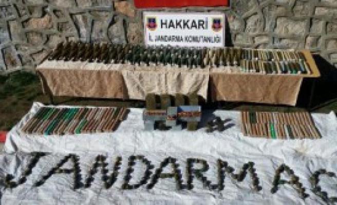 PKK Cephaneliği Ele Geçti