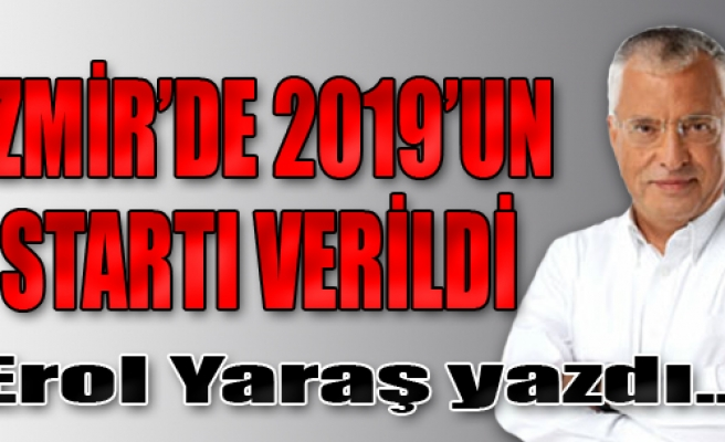 İzmir'de 2019'un Startı Verildi