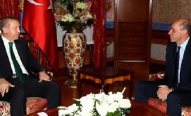 Erdoğan Turgay Demirel'i Kabul Etti