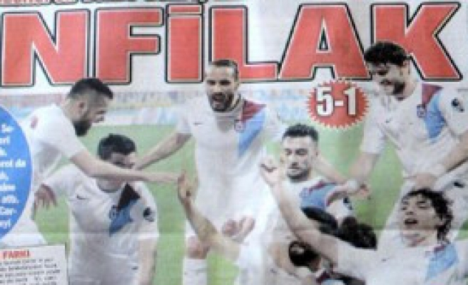 Trabzonspor Ligin En Golcü Takımı