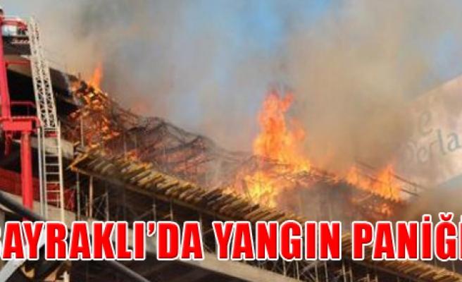 Gökdelen İnşaatında Yangın