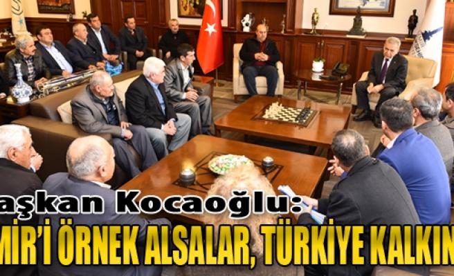 Kocaoğlu: İzmir'i Örnek Alsalar, Türkiye Kalkınır