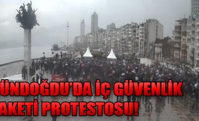 İzmir'de Paket Protestosu!