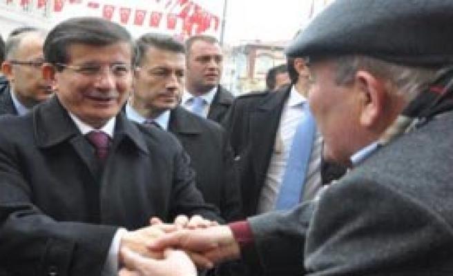 Başbakan Davutoğlu, Konya'da