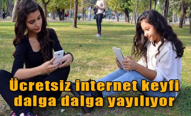 İzmir'de İnternete Girmek Çok Kolay