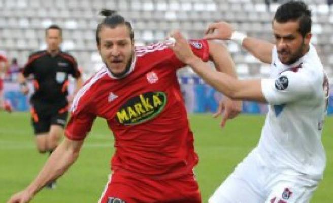 Medicana Sivasspor- Trabzonspor: 1-1