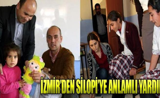 Köy Okuluna İzmir'den Yardım!