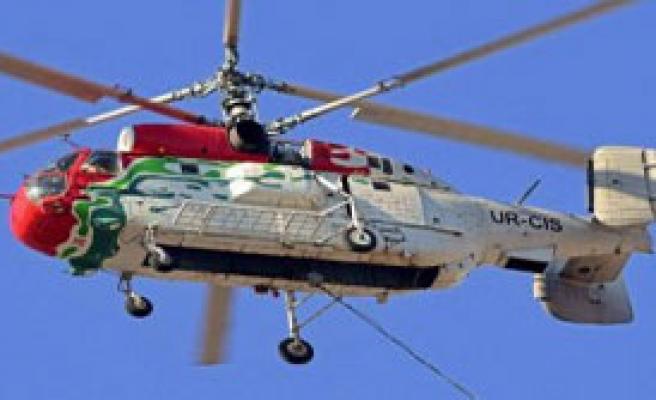 Tahtalı Barajı'na Düşen Yangın Söndürme Helikopterinde Motor Arızası Araştırılacak