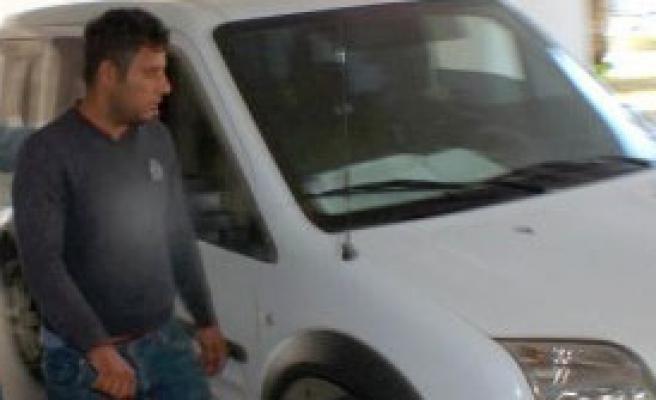 Marmaris'te Akü Hırsızına Suçüstü