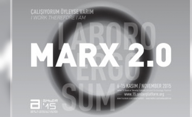 'Marx2.0' Adahan İstanbul'da