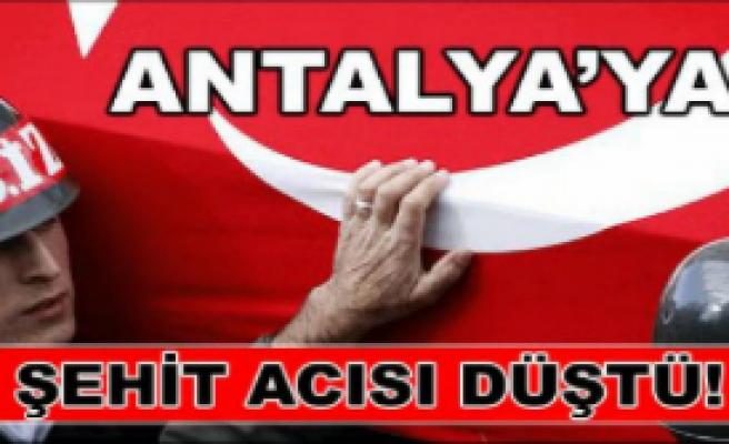 Şehit başpolisin cenazesi Antalya'da