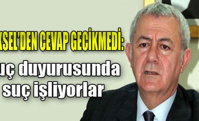 AK Parti'ye Suç Duyurusu Yanıtı