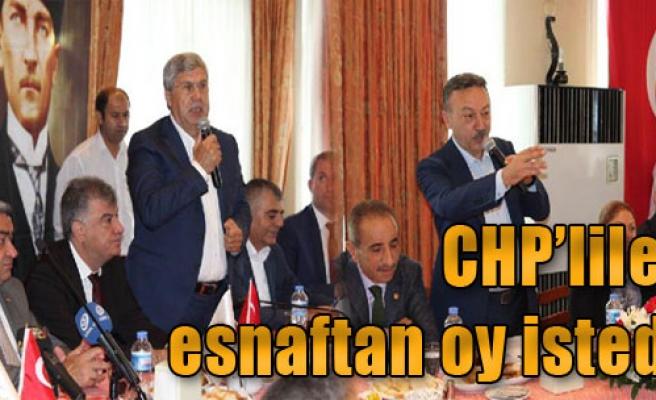 CHP'liler, İzmir'de Esnaftan Oy İstedi