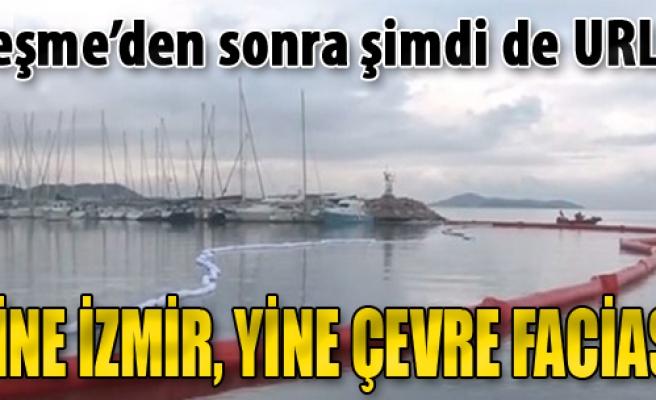 Urla'da Denize Mazot Sızdı, Liman Kapatıldı