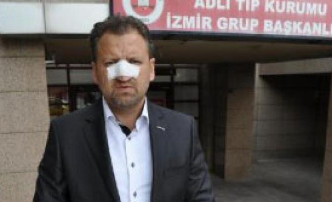 24 Kasım'da Öğretmenin Burnunu Kırdılar