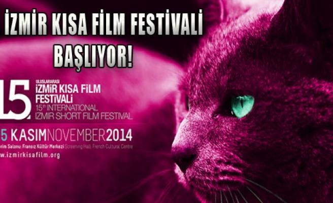 15. İzmir Kısa Film Festivali Başlıyor