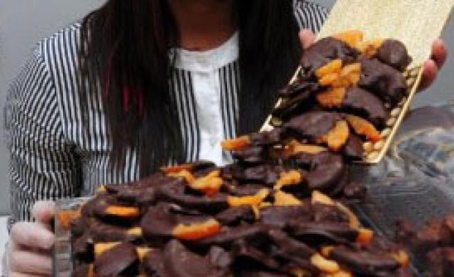 Portakal, Kabuğuyla Çikolataya Girdi