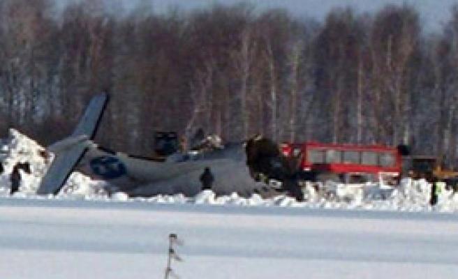 Sibirya'da Uçak Kazası