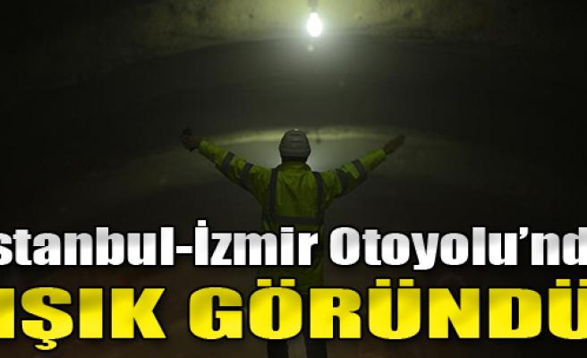 İstanbul-İzmir Otoyolu'nda 'Işık Göründü'