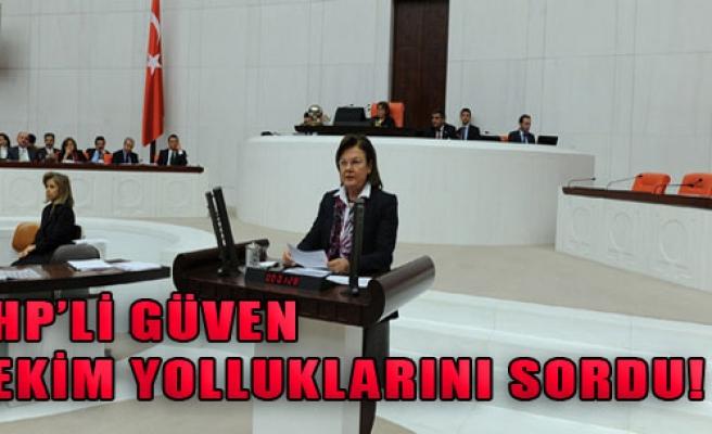 CHP'li Güven, Hekim Yolluklarını Sordu