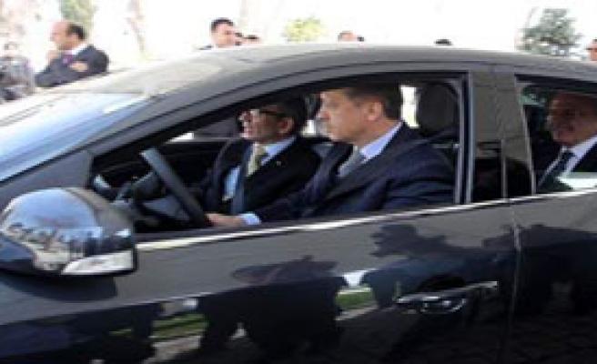 Erdoğan, Elektrikli Otomobil Kullandı