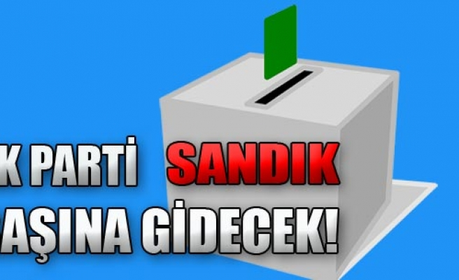 AK Parti Yarışacak!