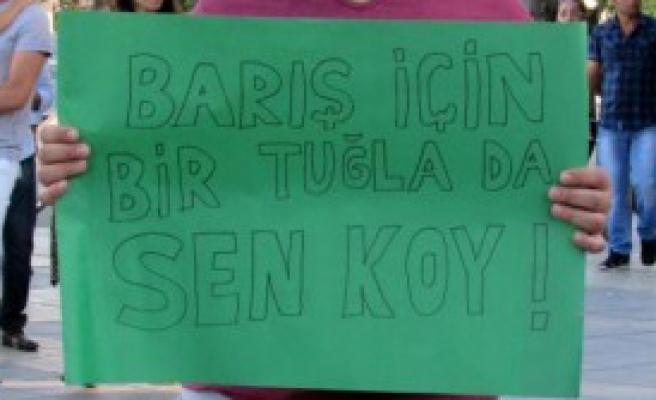 Suruç'taki Terör Katliamı, Kayseri'de Protesto Edildi