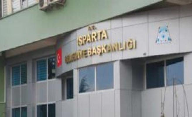 Isparta Belediyesine Şok