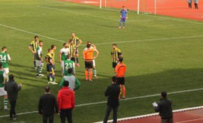 Kırklarelispor - Menemen Belediyespor: 2-1