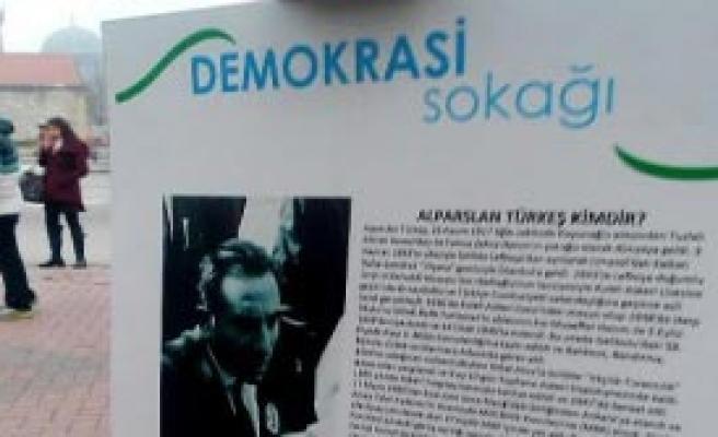 AK Parti Sergisinden Türkeş'i Kaldırttı