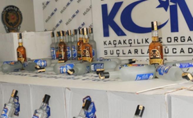 Kargoyla Sahte İçki Operasyonu
