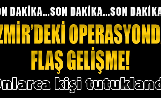 İzmir'de Uyuşturucu Ticaretine 37 Tutuklama
