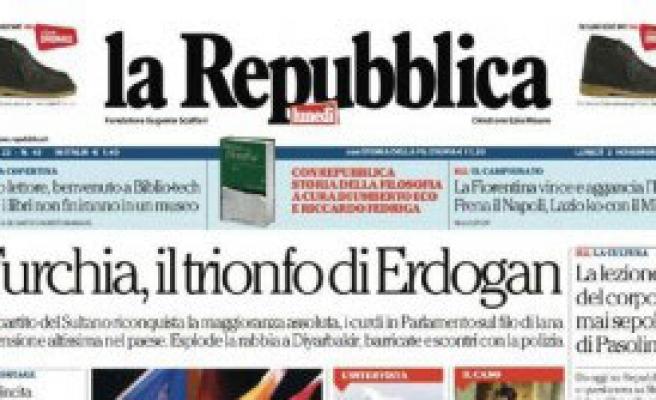 Türkiye'deki Seçimler İtalyan Basınında