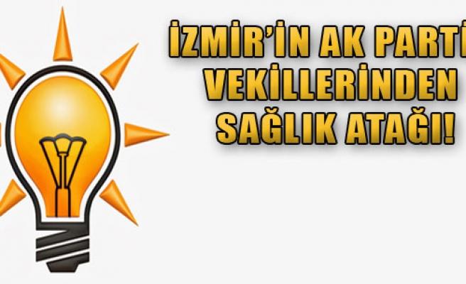 AK Partili Vekillerden Sağlık Atağı
